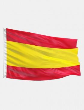 Drapeau Espagne sans blason...