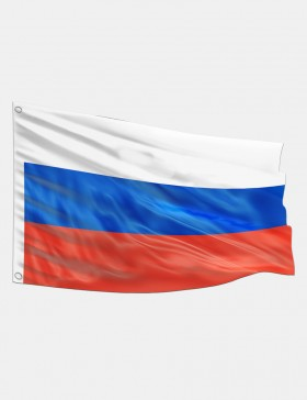 Drapeau Russie sans blason...