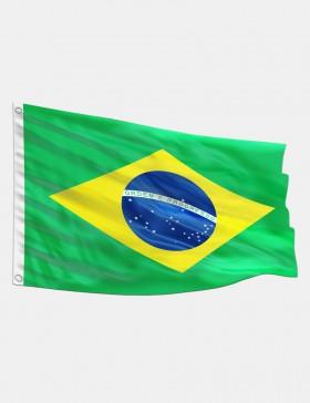 Fahne Brasilien 90 x 150 cm