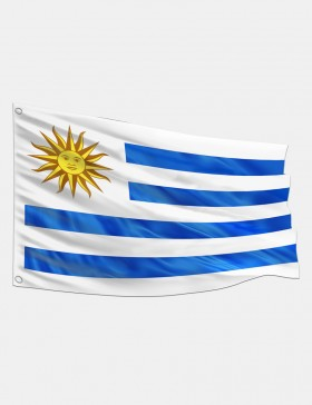 Drapeau Uruguay 90 x 150 cm