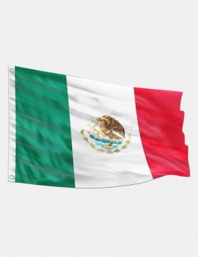 Fahne Mexiko 90 x 150 cm