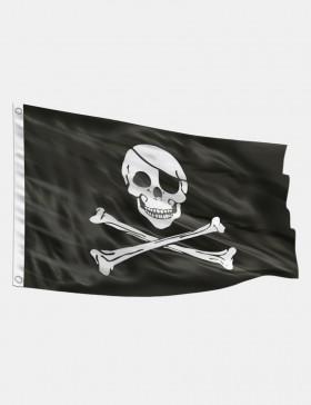 Fahne Pirat 90 x 150 cm