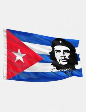 Drapeau Che Guevara Cuba 90...