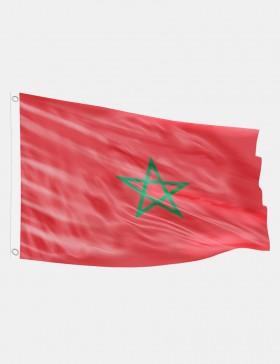Fahne Marokko 90 x 150 cm