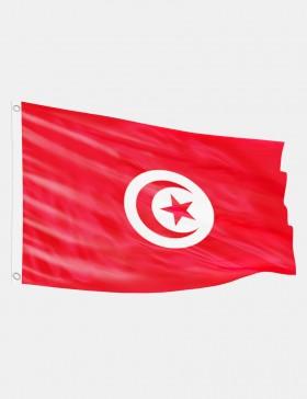 Drapeau Tunisie 90 x 150 cm