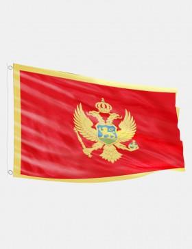 Fahne Montenegro 90 x 150 cm
