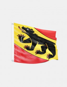 Fahne Bern 120 x 120 cm