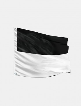 Fahne Freiburg 120 x 120 cm