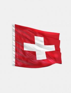 Fahne Schweiz 120 x 120 cm
