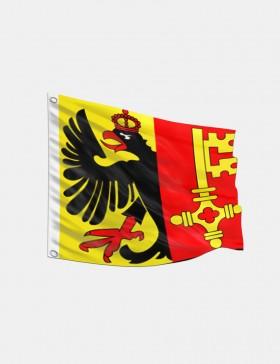 Fahne Genf 120 x 120 cm