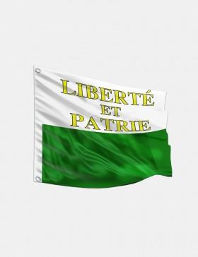 Fahne Waadt 120 x 120 cm