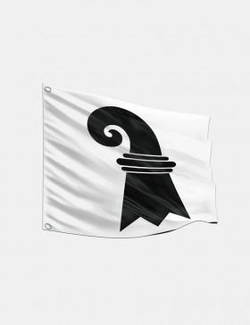 Fahne Basel-Stadt 120 x 120 cm