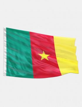 Fahne Kamerun 90 x 150 cm