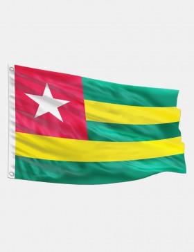 Fahne Togo 90 x 150 cm